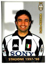 Cartoncino Juventus 1997/98 – Fabio Pecchia