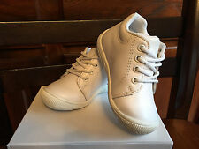 Genuine Leather Baby Boy Girls Shoes White US Size 4 Compared Stride Rite Walker