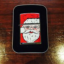 Zippo Lighter Fat Santa 1995 Design