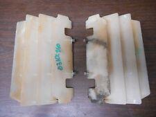 2003 Kawasaki kx 250 radiator shroud covers