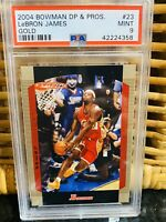 POP 6! 🔥2004-2005 LeBron James TOPPS BOWMAN GOLD #23 PSA 9 BGS lakers kobe