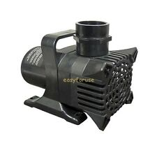 NEW 2000GPH SUBMERSIBLE KOI & GOLD FISH  POND PUMP 180W NO OIL EXTRA LONG CORD