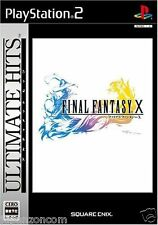 Used PS2 Final Fantasy X  SONY PLAYSTATION JAPAN IMPORT