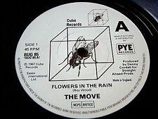 "THE MOVE - FLOWERS IN THE RAIN / BLACK BERRY WAY  7"" VINYL"