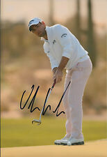 Oliver WILSON SIGNED AUTOGRAPH Golf 12x8 Photo AFTAL COA Ryder Cup Qualifier