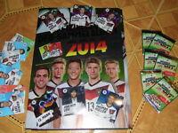 REWE Ramba Zamba 34 Sticker Komlettset alle Sammelbilder komplett FIFA WM 2014
