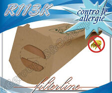 R113K 8 sacchetti filtro carta x Rowenta Slim Line RH 611