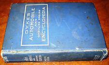 1920 1919 1918 1917 Dykes Auto Encyclopedia Tractors Cycles Trucks Planes Steam