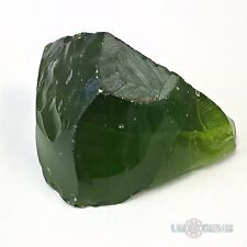 Peridot #M172. Rough 140 gr. Monosital  Created Gemstone. US@GEMS