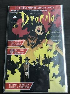 Bram Stokers Dracula Topps Comics Issue 4 Of 4 W/Trading Cards Sealed