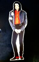 RARE Awesome Michael Jackson Promo Stand-up Mobile Card Figure. 11 inches tall.