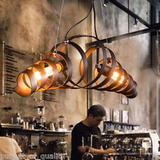 Modern Ox Horn Bar Metal Lamp Minimalist Industrial Chandelier Pendant Lighting