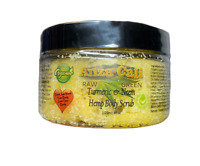 Organic Hemp Turmeric & Neem Body Scrub 4 oz