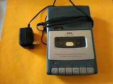 Rca Rp3503-A Portable Tape Cassette Player Recorder Tested
