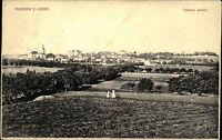 Libáně Tschechien Česká alte AK ~1910 Celkový Pohled Panorama gelaufen frankiert