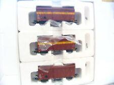 Hobbytrade H0 33351 3er Set ged. Güterwagen NMBS / SMCB OVP (LN8581)