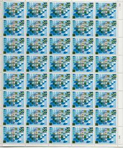 1996 32 cent Computers full Sheet of 40 Scott #3106 Mint NH