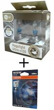 H7 GE MegaLight Ultra +130% Licht 2st. 58520XNU + W5W Osram Cool Blue Intense