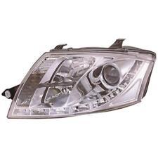 Set Scheinwerfer für Audi TT Coupe Cabrio Bj. 98-05 klar/chrom LED Tagfahrlicht