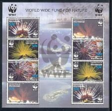 Micronesia 2005 - WWF/CORALS SHEET OF 8 STAMPS MNH