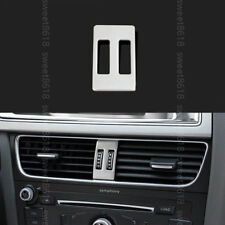 Stainless Steel Middle Center Air Vent Outlet Cover Trim For Audi A4 B8 09-2016