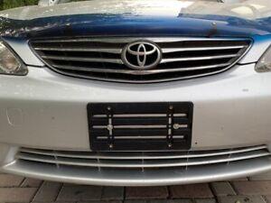 License Plate Bumper Mount Holder Bracket For Toyota Brand New