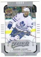 2015-16 Upper Deck MVP Silver Script Parallel #34 Nazem Kadri Maple Leafs