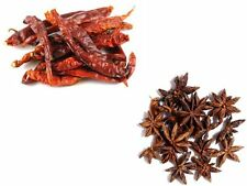 Spice Combo Pack - Dried Kashmiri Chillies 100g - Star Anise 100g
