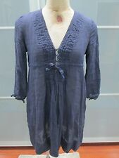 Marina Yachting Navy Blue After Beach Pool Cover Up Dress Size XS