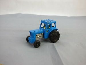 Vintage 1978 Lesney Matchbox no 46 Blue Ford Tractor Farm Vehicle Toy Car
