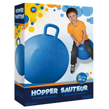 Hedstrom 15 Inch Fun Hop, Blue Large Hopper Kid Hopping Ball With Handle Ride-on