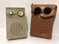 Vintage 1960s ZENITH All Transistor Radio Model Royal 265 Retro R265L Steampunk