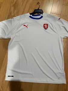 Puma Soccer PUMA Czech Republic Away Jersey 2018 Size XXL BNWOT 752542-02