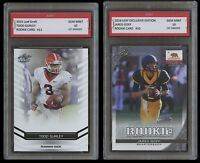 TODD GURLEY/JARED GOFF 2015 & 2016 LEAF 2 LOT 1ST GRADED 10 ROOKIE CARD RC RAMS