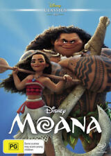 Moana PG Rated Foreign Language Movie DVDs & Blu-ray Discs
