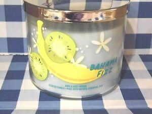 """Bath & Body Works """"BAHAMA FIZZ"""" 3 Wick Candle Brand New"""