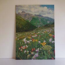 Puzzle Montagne fait main IN 1968 Mirecourt Menton art déco XXe PN France N2308