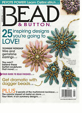BEAD & BUTTON,  AUGUST, 2016   ISSUE, 134 (25 INSPIRING DESIGNS  YOU'RE GOING TO