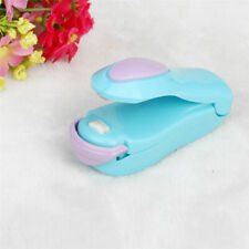 Mini Blue Handheld Sealing Machine Portable Heat Plastic Bag Impluse Sealer Tool