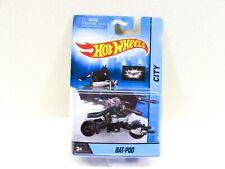 Hot Wheels Bat-Pod The Dark Knight Motorcycle with Rider NIP 2013 Malaysia