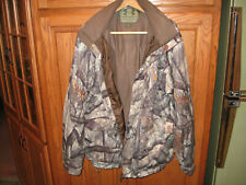 Underarmour Mossy Oak Camo Treestand Large Jacket and Bibs Cold Gear