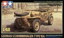 Tamiya 32506 1/48 Military Model Kit VW German Pkw.K2s Schwimmwagen Type 166