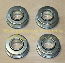 4) QUALITY FLANGED WHEEL BEARINGS 3/4 x 1-3/8 FIT SNAPPER 11807,1-1807,70118
