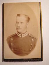 Stuttgart - Albert Stöckle als Soldat in Uniform - Regiment GrenR 119 ? / CDV