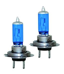 Holden VE VF Commodore SS WM Statesman Xenon White Blue Headlight Globes Bulbs