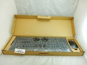 Lot of 4 Lenovo Essential Wireless Keyboard & Mouse French Canadian 4X30M39471