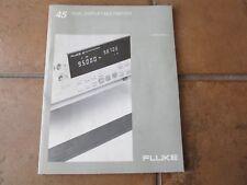 Fluke 45 Dual Display Multimeter User's Manual