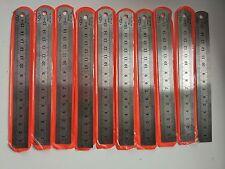 "10pcs 15cm 150mm 6"" Inch Stainless Steel Metal Ruler/ Rule ( 20mm Wide )"
