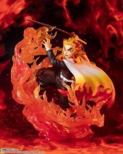 USA SELLER/SHIPPING! Demon Slayer Kyojuro Rengoku Flame Breathing Figure Bandai
