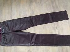 PAIGE stylische Jeans VERDUGO ULTRA SKINNY wine coating Gr. 26 TOP BI318